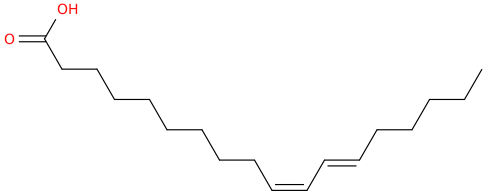 10,12 octadecadienoic acid, (10z,12e)