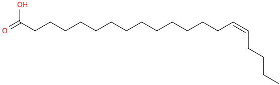 15 eicosenoic acid, (15z)