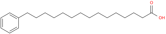 15 phenylpentadecanoic acid