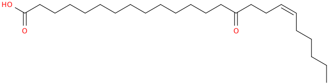 18 tetracosenoic acid, 15 oxo , (z)  (8ci)