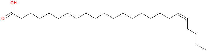 19 tetracosenoic acid, (19z)