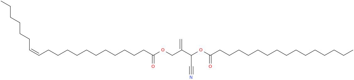 2 [cyano [hexadecanoyl]oxymethyl]prop 2 enyl eicos 13z enoate