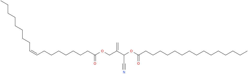 2 [cyano [hexadecanoyl]oxymethyl]prop 2 enyl octadec 9z enoate
