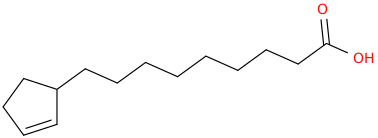2 cyclopentene 1 nonanoic acid