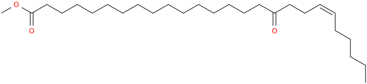 20 hexacosenoic acid, 17 oxo , methyl ester, (z)