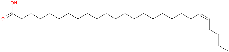 21 hexacosenoic acid, (21z)