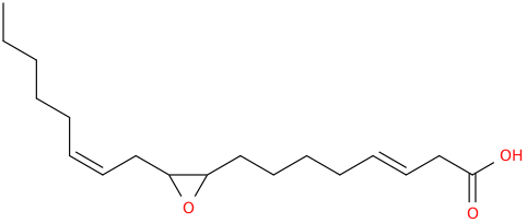 3,12 octadecadienoic acid, 9,10 epoxy , (3e,12z)