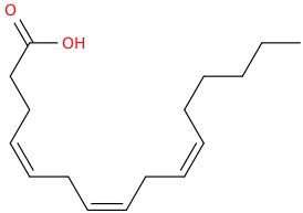 4,7,10 hexadecatrienoic acid, (z,z,z)