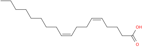 5,9 octadecadienoic acid, (5z,9z)