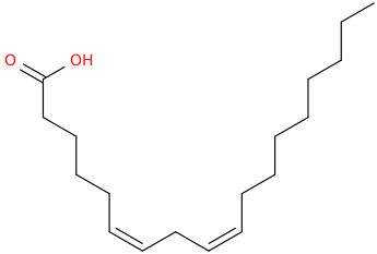 6,9 octadecadienoic acid, (6z,9z)