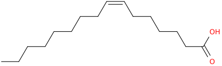 7 hexadecenoic acid, (7z)