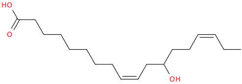 9,15 octadecadienoic acid, 12 hydroxy , (z,z)