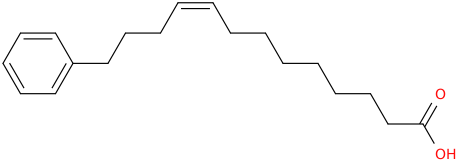 9 ​tridecenoic acid, 13 ​phenyl ​, (9z)​