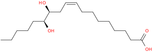 9 octadecenoic acid, 12,13 dihydroxy , (9z,12s,13s)