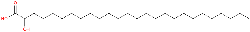 Hydroxyhexacosanoic acid
