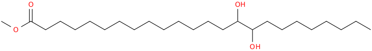 Tetracosanoic acid, 15,16 dihydroxy , methyl ester