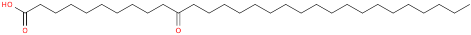 Triacontanoic acid, 11 oxo