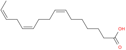 Z,z,z 7,11,14 hexadecatrienoic acid